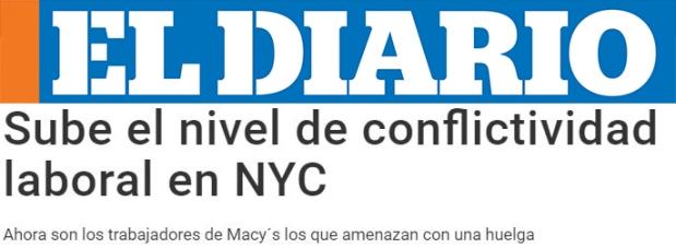 El Diario headline